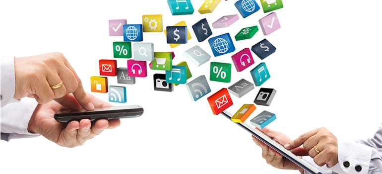 Aprovechamiento digital con aplicaciones