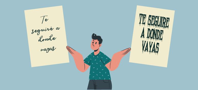 La importancia de la tipografía para transmitir un mensaje