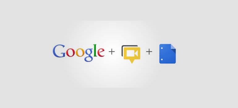 Google Docs se integra oficialmente en las quedadas de Google+