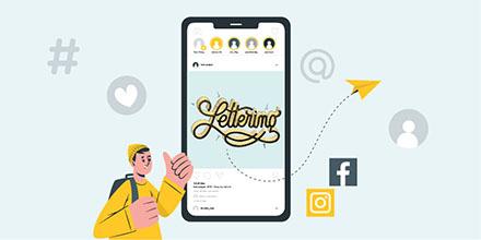 El lettering como contenido estratégico para tus redes sociales