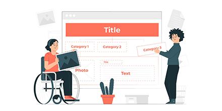 Cómo organizar de manera efectiva la información de tu página web