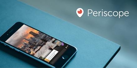 Lo nuevo en video streaming: Periscope